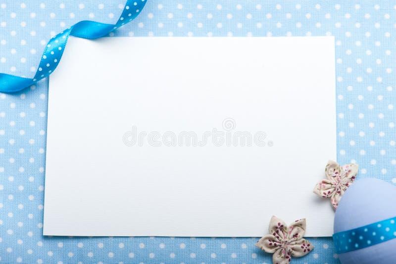 Cartão vazio para o menino recém-nascido fotos de stock