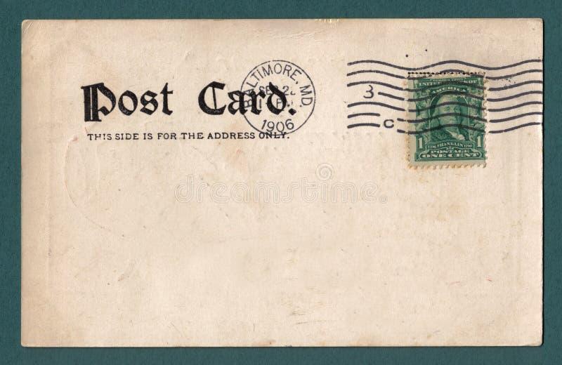 Cartão velho imagens de stock