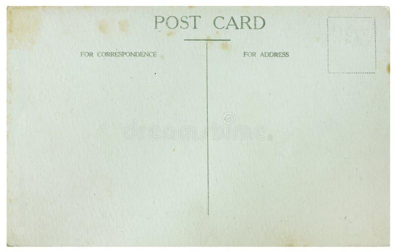 Cartão velho fotos de stock royalty free