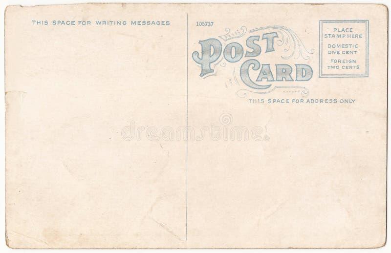 Cartão velho fotografia de stock