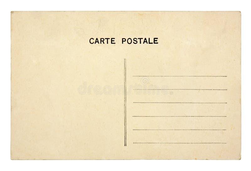 Cartão velho do vintage imagem de stock royalty free