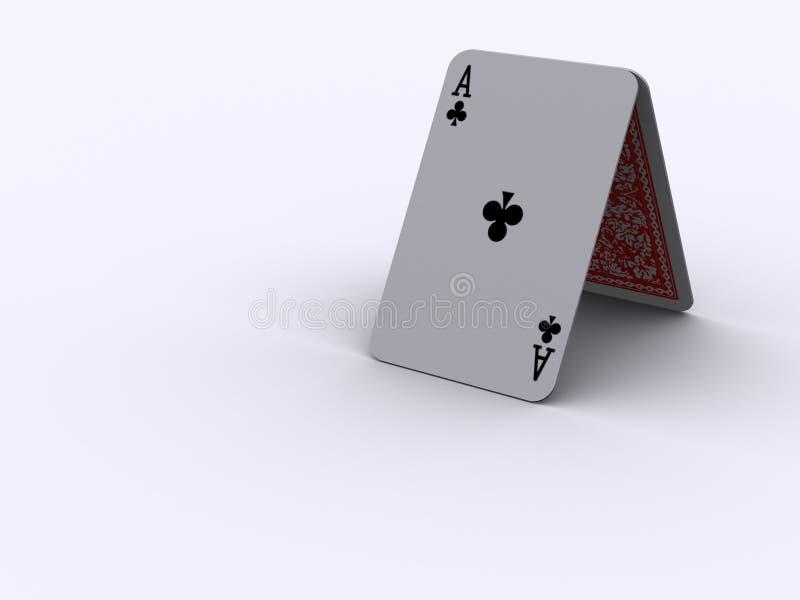 Cartões 1 do jogo ilustração royalty free
