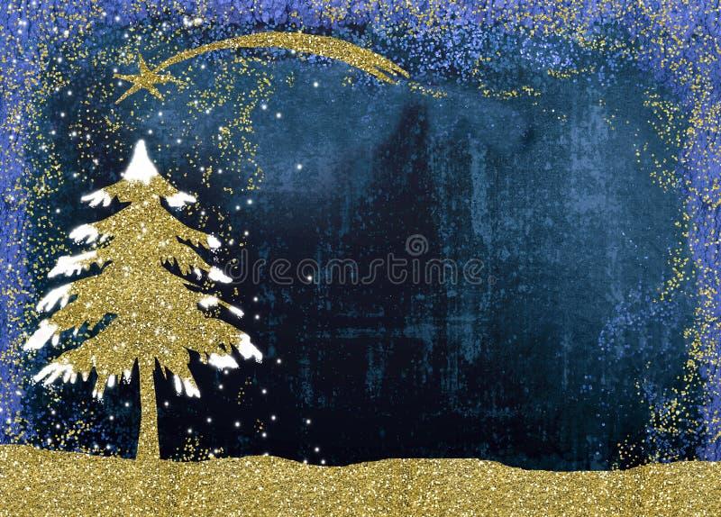 Cartões de cumprimentos da natividade do Natal fotos de stock