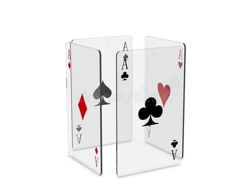 Download Cartões de jogo ilustração stock. Ilustração de casino - 16859430