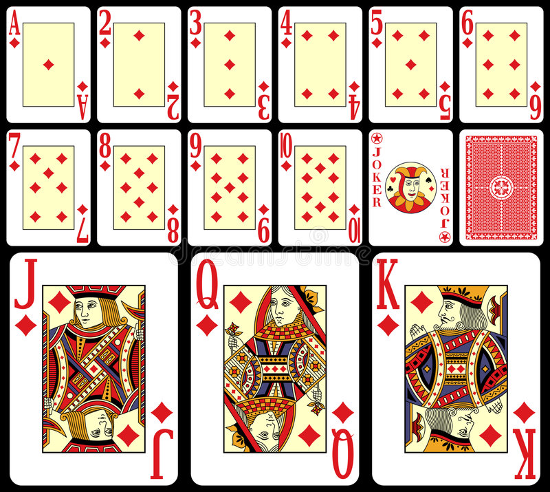 Cartões de jogo do Blackjack [2]