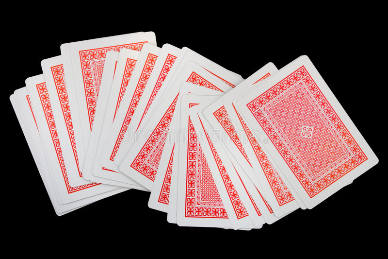 Cartões de jogo (ternos) foto de stock royalty free