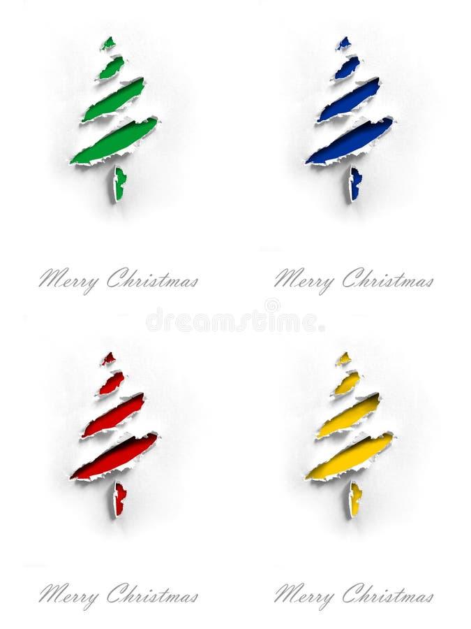 Cartões de Natal fotografia de stock royalty free