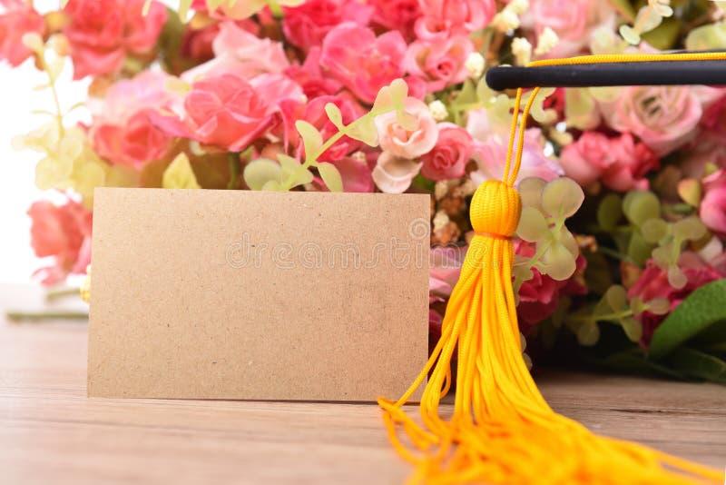 Cartões de papel das felicitações foto de stock