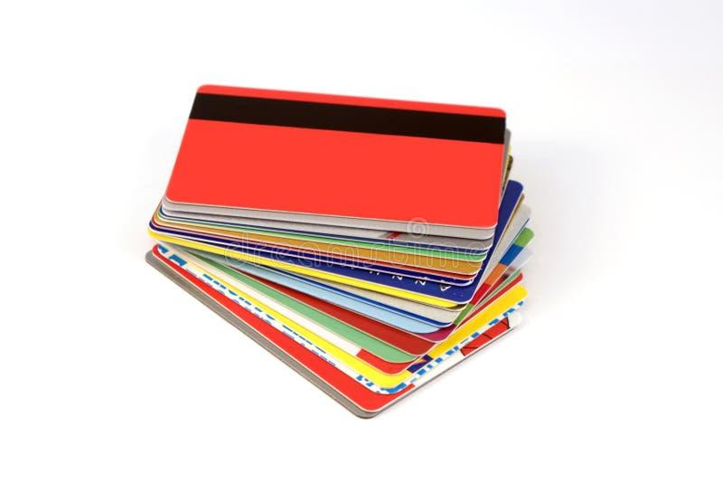 Cartões do disconto imagens de stock