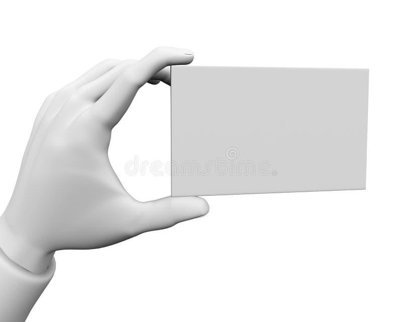 Cartões em branco ilustração do vetor