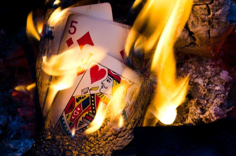 Cartões quentes fotos de stock royalty free