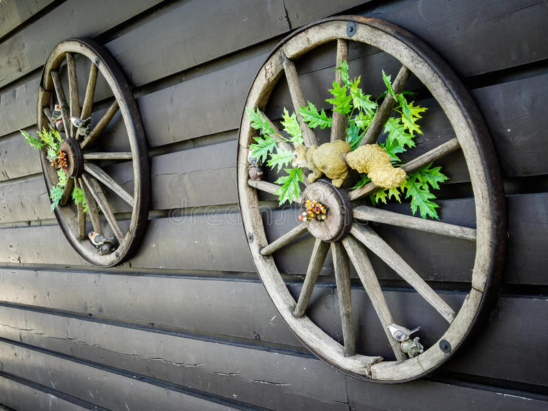 Cart колесо стоковая фотография