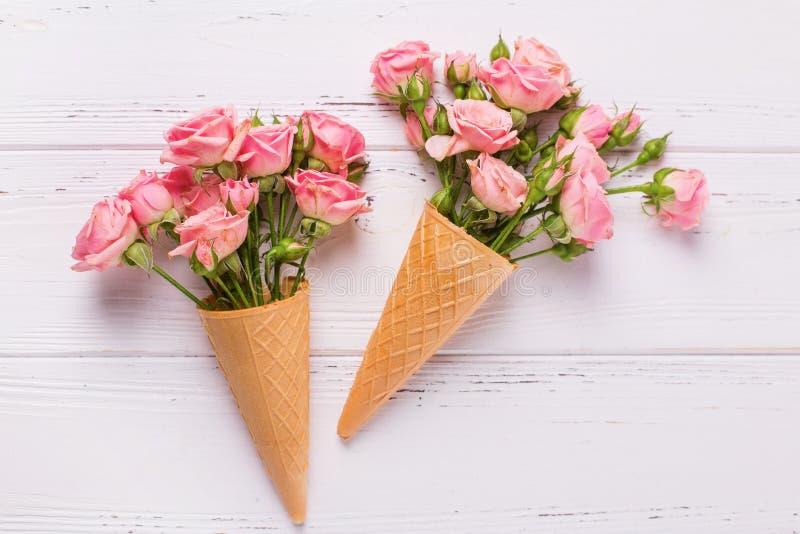 Cart?o com flores fotos de stock royalty free