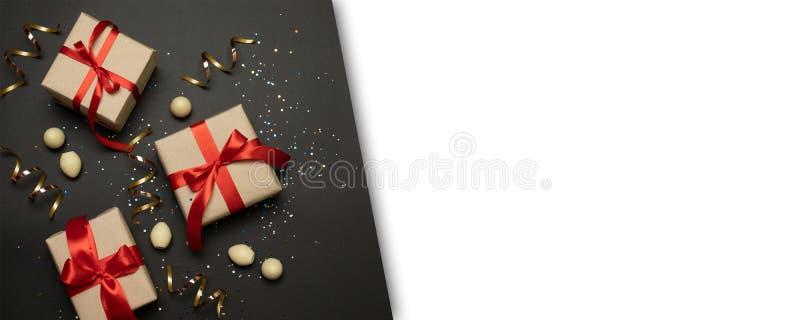 Cart?o do Feliz Natal, quadro Tema do feriado do xmas do inverno Ano novo feliz Configura??o lisa imagem de stock royalty free