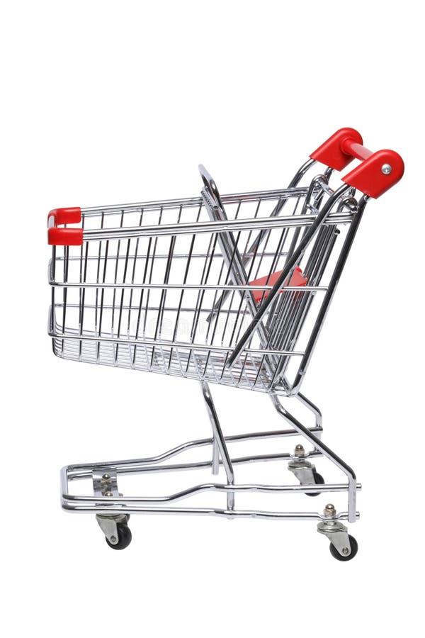 cart shopping royaltyfria bilder