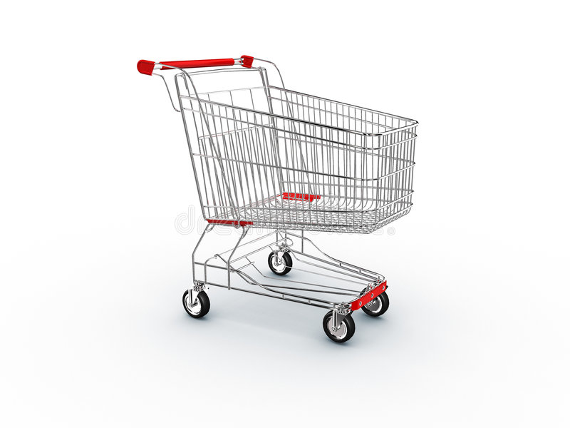 Download Cart shopping supermarket stock illustration. Image of empty - 3232760