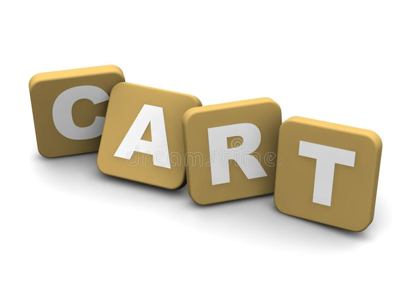 Download Cart Text Royalty Free Stock Images - Image: 14881849