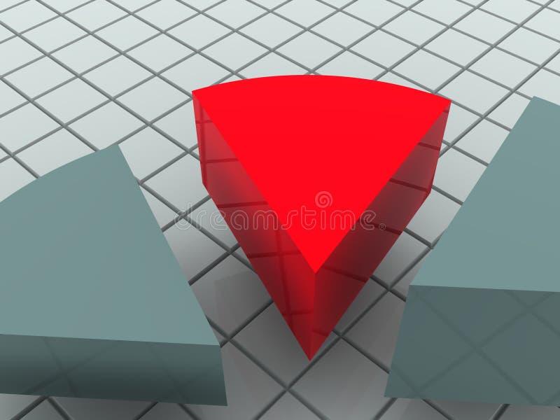 Carta. ilustración del vector