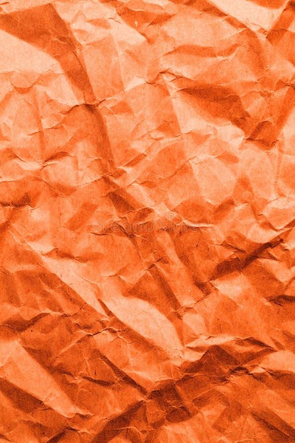 Carta arancio illustrazione di stock