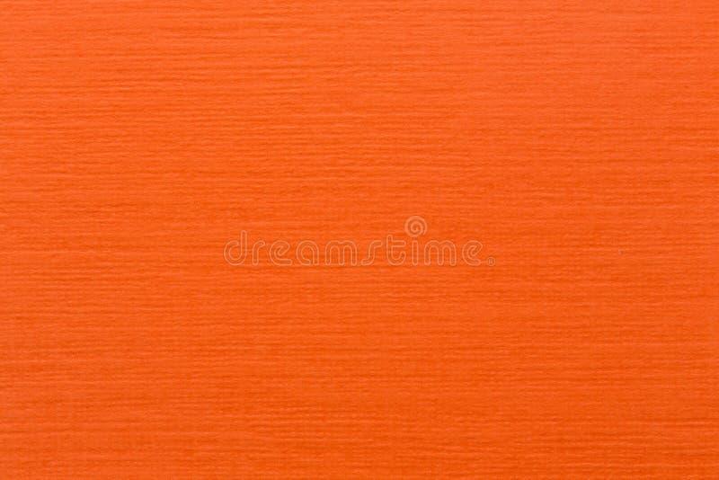 Carta arancione-chiaro in bianco fotografia stock libera da diritti