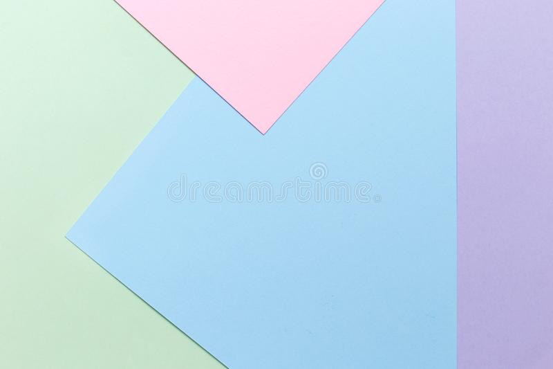 Carta astratta di colore fotografie stock libere da diritti