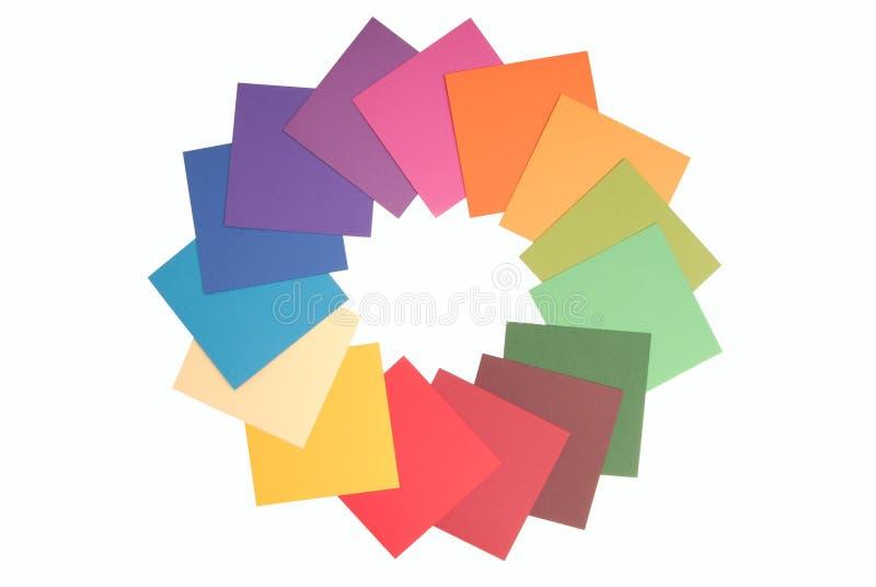 Carta colorata immagine stock