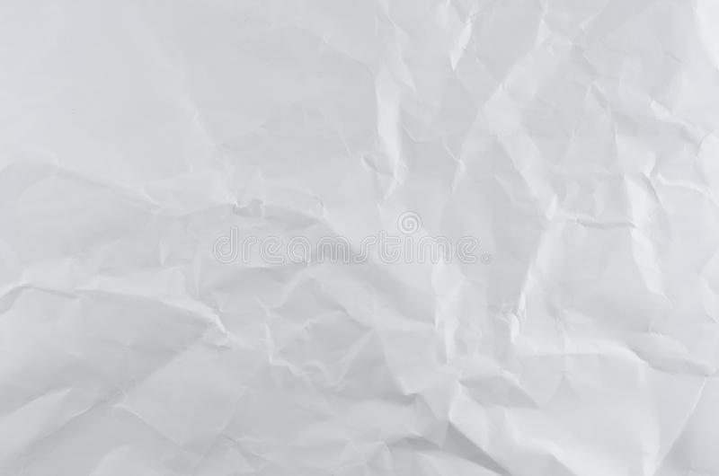 Carta con le grinze fotografia stock