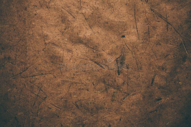 Carta d'annata ruvida di Brown Fondo e struttura astratti per i progettisti Carta riciclata vecchia annata Carta d'annata ruvida  fotografie stock