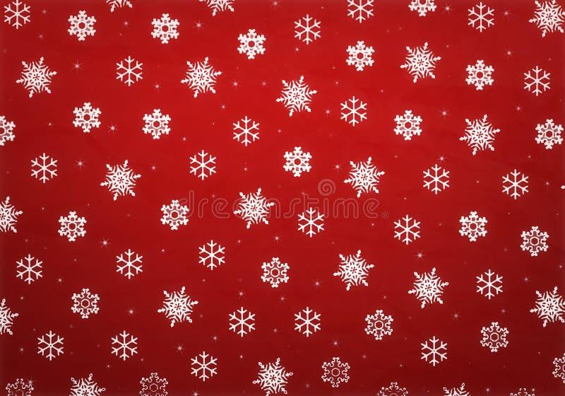 Carta da imballaggio di Natale illustrazione di stock