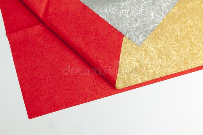 Carta da imballaggio per lo spostamento di regalo immagine stock
