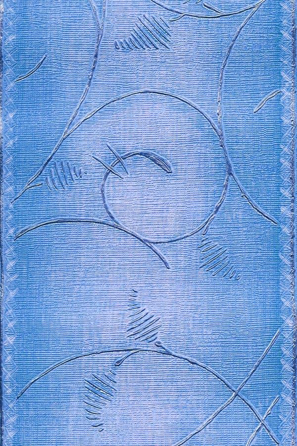 Carta da parati classica blu illustrazione di stock for Carta parati blu