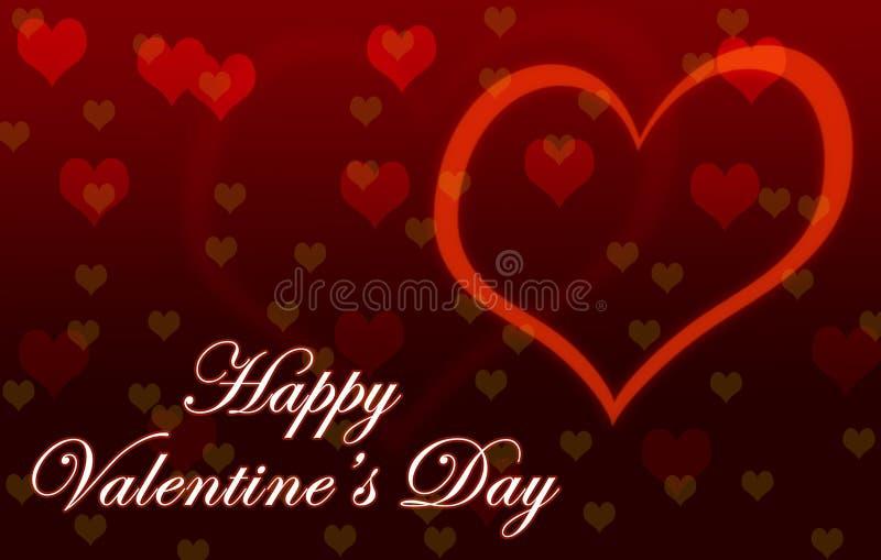 Carta da parati felice di San Valentino immagini stock