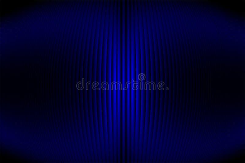 Carta da parati ondulata del fondo protetta blu di vettore dell'estratto illustrazione viva di vettore di colore royalty illustrazione gratis