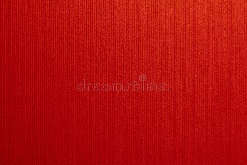 Carta da parati rossa del modello immagine stock for Carta da parati damascata rossa