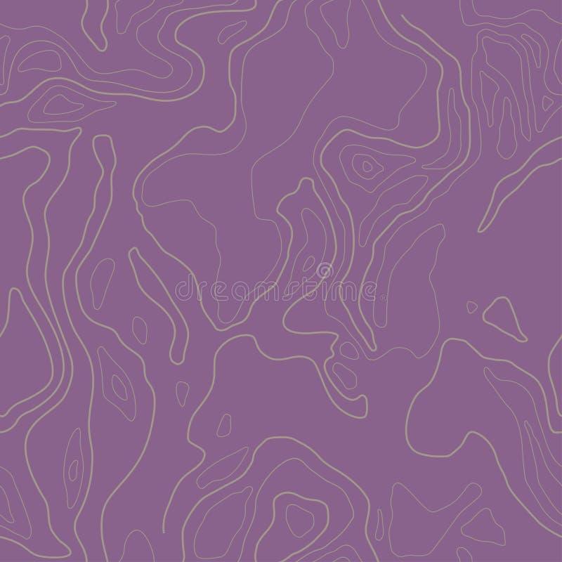 Carta da parati senza giunte Wave allinea il modello struttura alla moda moderna Ripetizione del fondo astratto Tempate per il te royalty illustrazione gratis