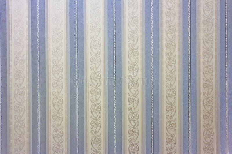 Carta da parati a strisce blu illustrazione di stock for Carta da parati a strisce