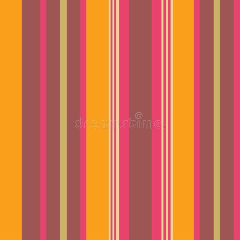 Carta da parati a strisce di colore caldo illustrazione for Carta da parati a strisce