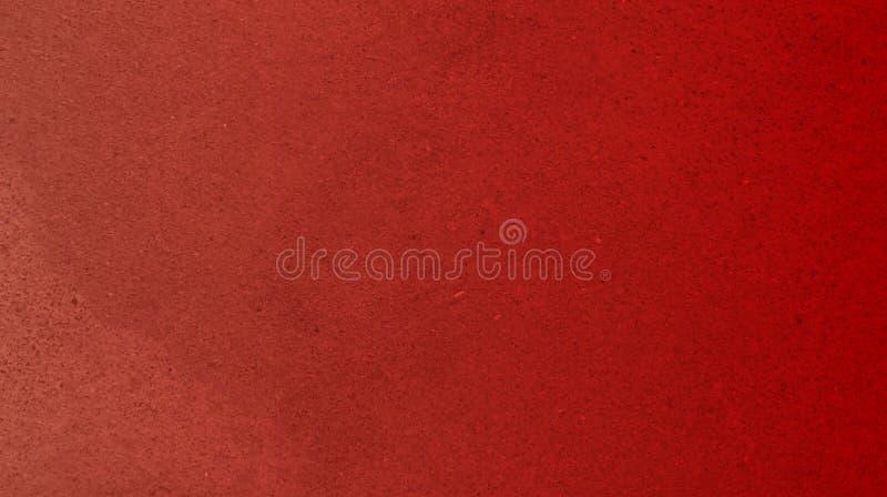 Carta da parati strutturata del fondo della parete di colore rosso del rubino Illustrazione di vettore illustrazione di stock