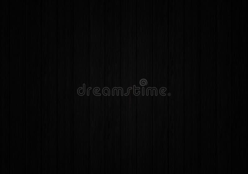 Carta da parati strutturata di legno nera del fondo immagine stock