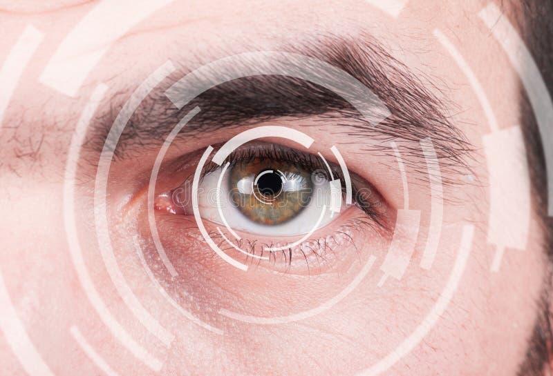 Carta da visão do teste do olho foto de stock royalty free