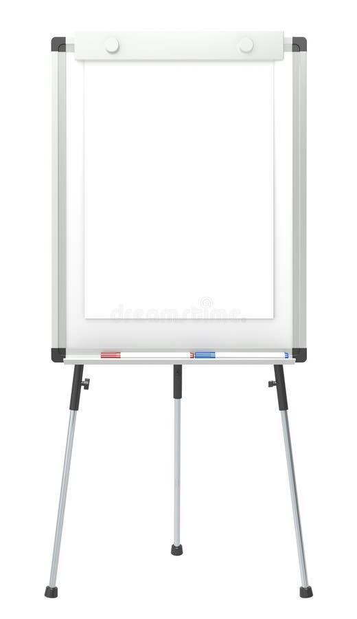 Carta de aleta. ilustração stock