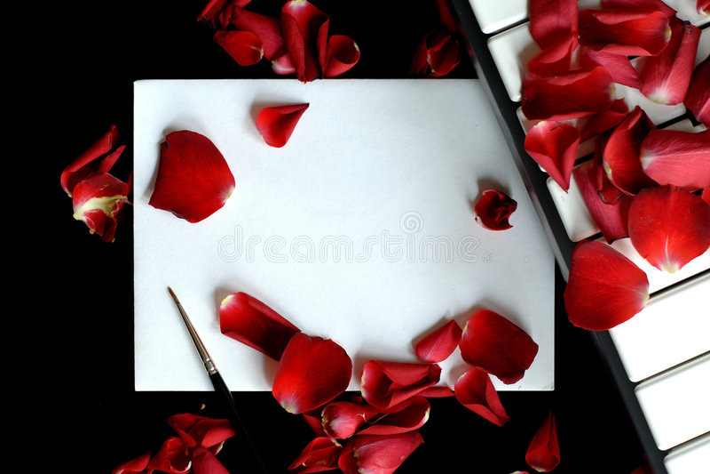 Carta de amor fotos de archivo libres de regalías