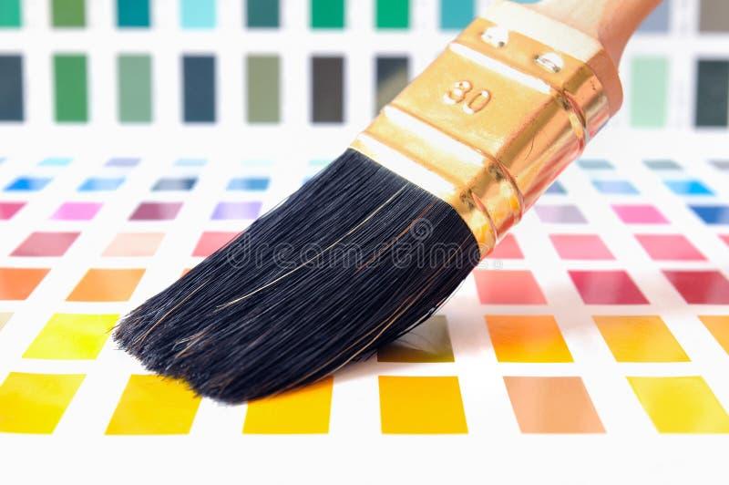 Carta de color fotografía de archivo libre de regalías