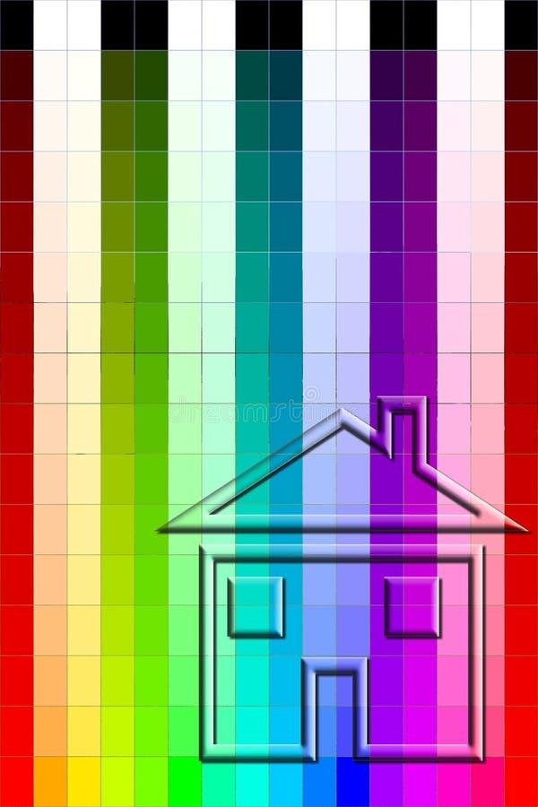 Download Carta De Cor - Pintura De Casa Ilustração Stock - Ilustração de escolha, pulverizador: 535505