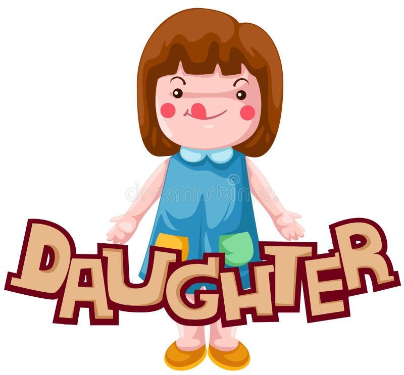 Carta de la hija libre illustration