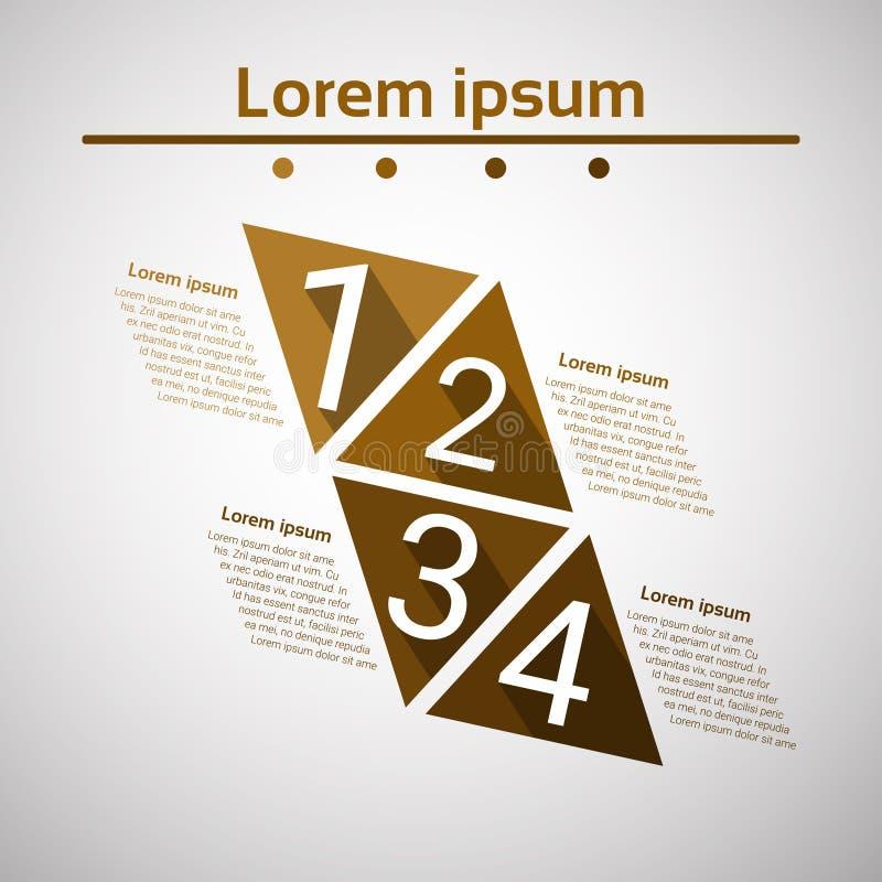 Carta de negocio financiera de las finanzas del gráfico del diagrama del icono determinado de Infographic ilustración del vector