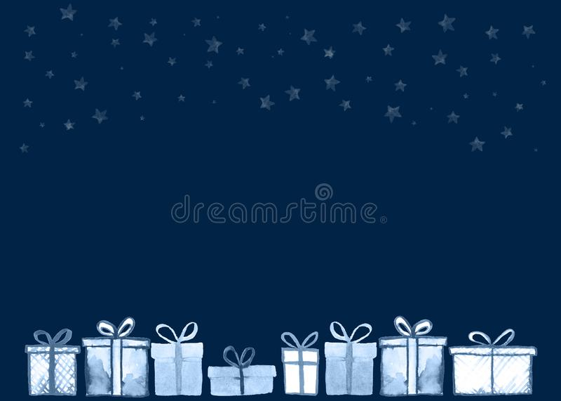 Carta dei regali di Natale royalty illustrazione gratis