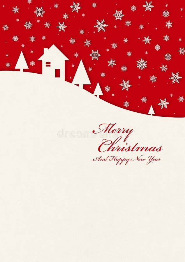 Carta del bambino di Buon Natale illustrazione vettoriale