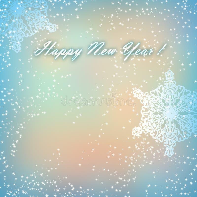 Carta del buon anno 2014 immagini stock