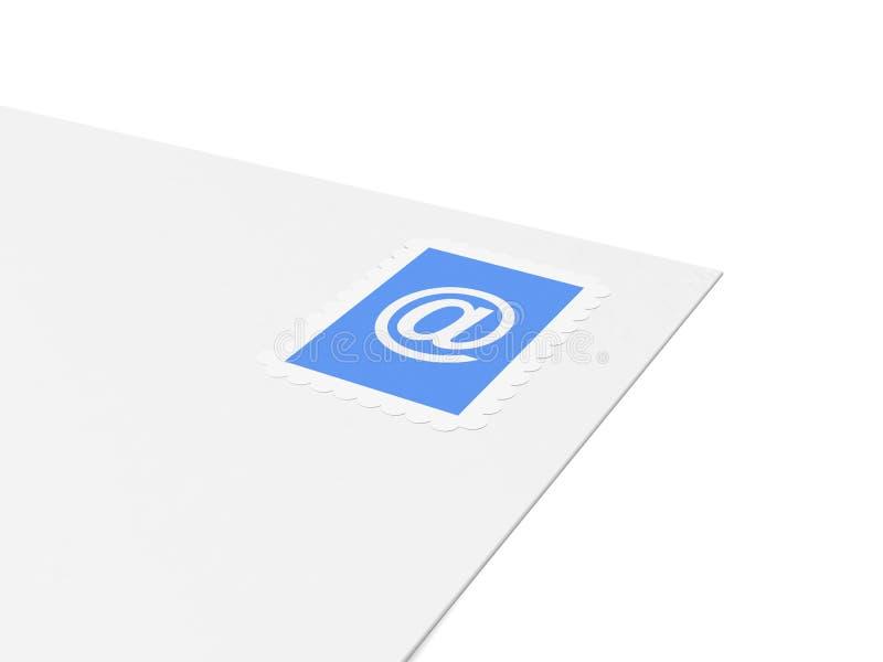 Carta del email ilustración del vector